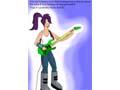 Лила с гитарой